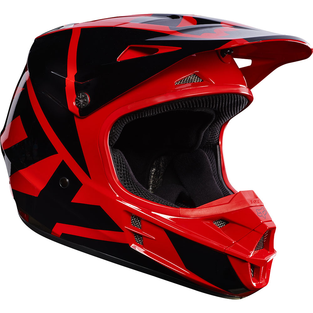 1000x1000 Fox Racing 2017 Mx New V1 Race Red Black Adult Dirt Bike Motocross