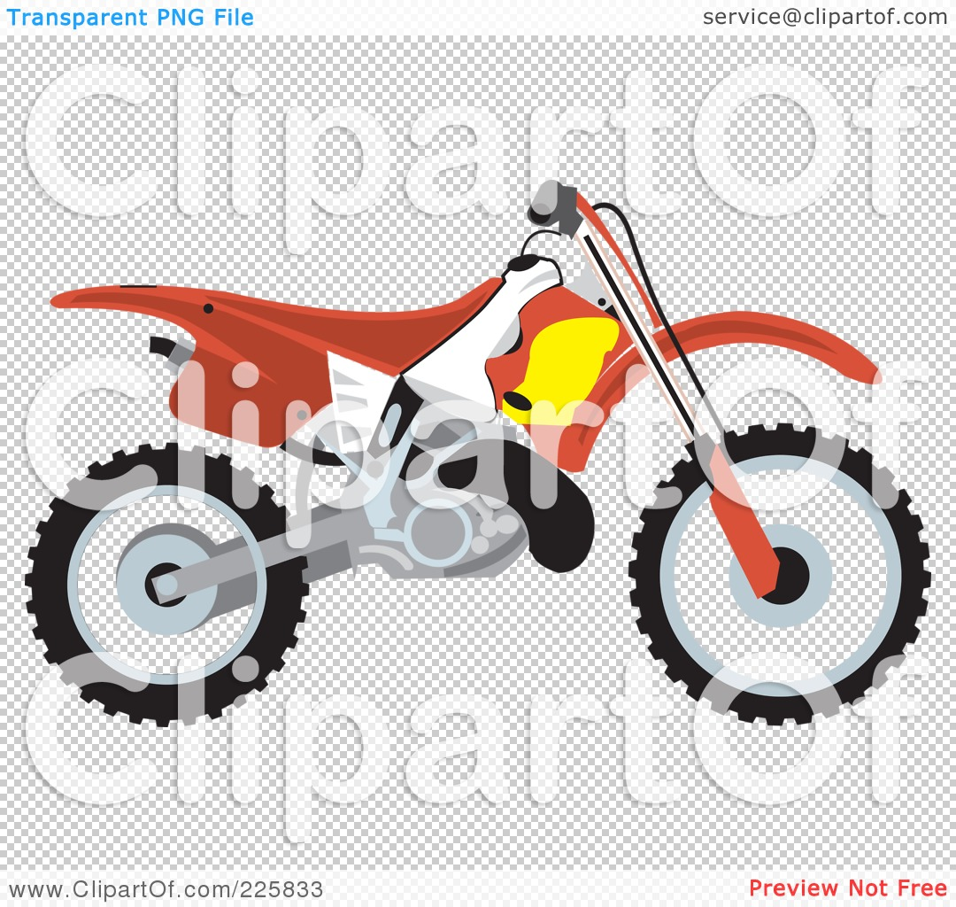Dirt Bikes Drawing At Free For Personal Use Lincoln Pit Bike 1080x1024 Royalty Rf Clipart Illustration Of A Red By David