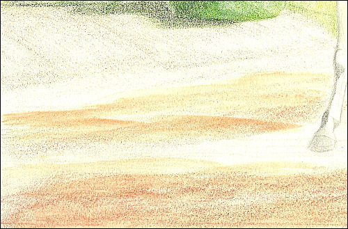 500x329 How To Draw Realistic Dirt, Ground, Amp Soil With Colored Pencil