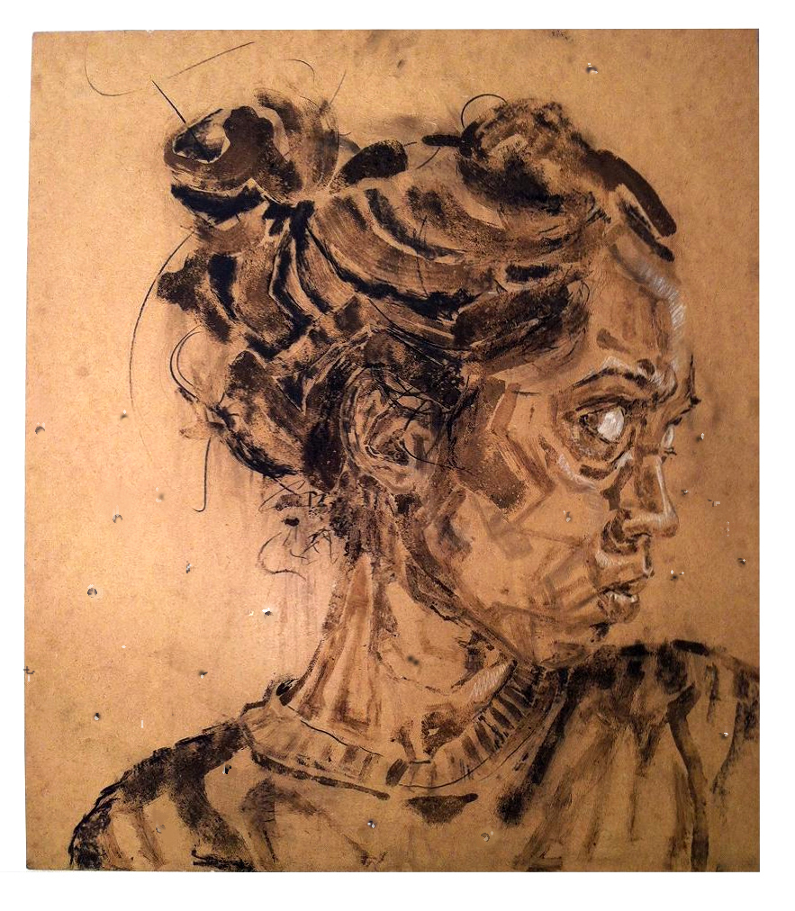 883x1012 Untitled (Dirt Drawing) Lauren A. Toomer