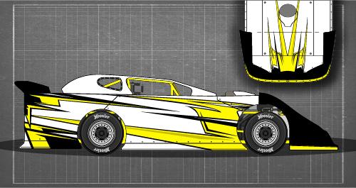 Dirt Late Model Drawing at GetDrawings com | Free for