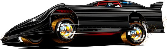 550x163 Late Model Drawing By Bmart333