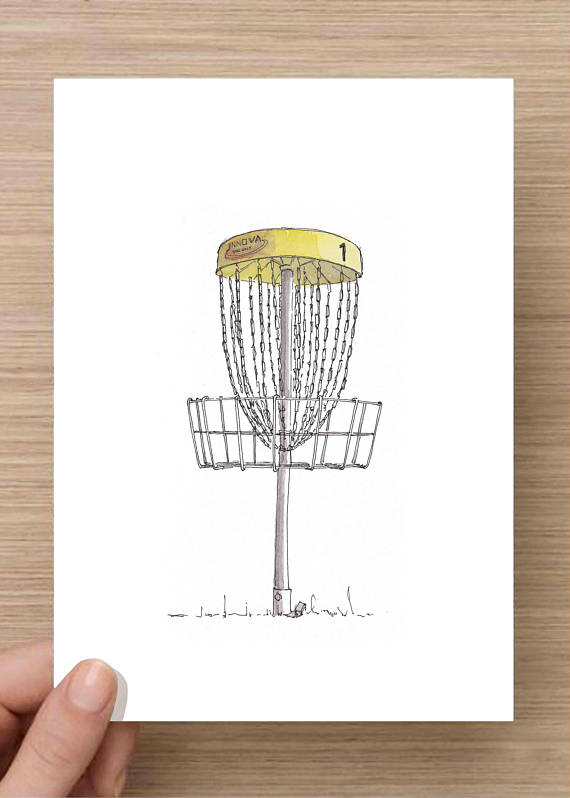 28ab804ff Disc Golf Basket Drawing at GetDrawings.com | Free for personal use ...