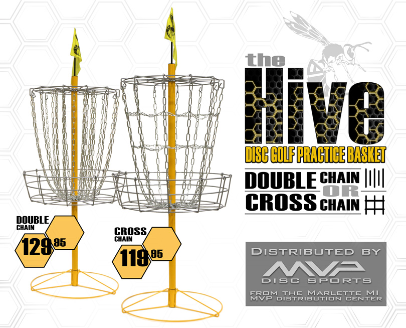 810x654 The Hive Disc Golf Practice Basket