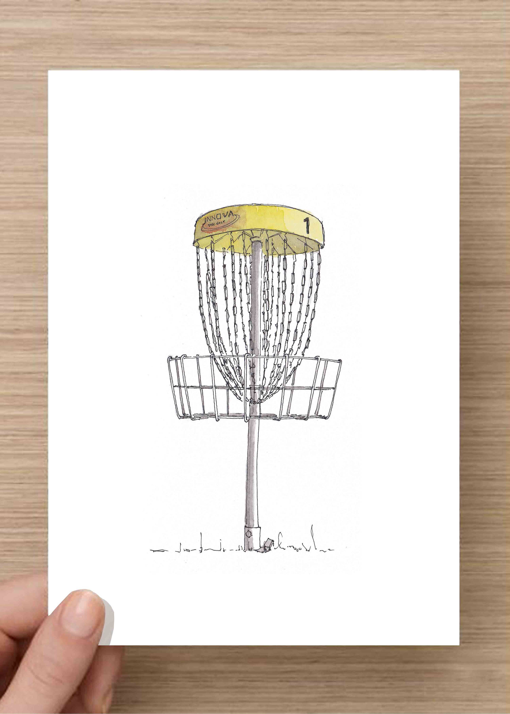 2143x3000 Disc Golf Basket