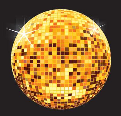 400x383 Corel Draw Tutorial Disco Ball