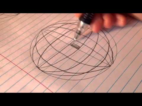 480x360 How To Draw A 3d Disco Ball