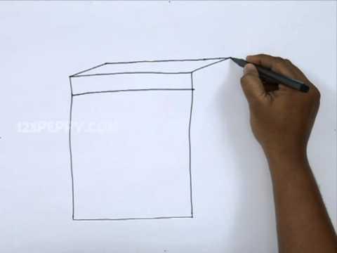 480x360 How To Draw A Cartoon Dishwasher