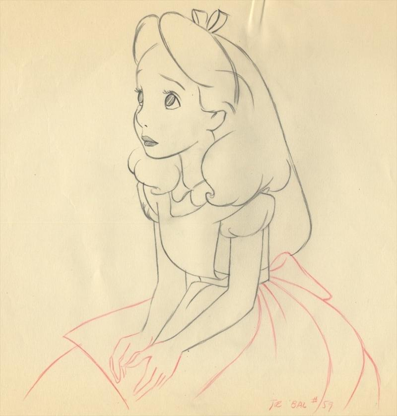 800x839 Drawing Alice In Wonderland