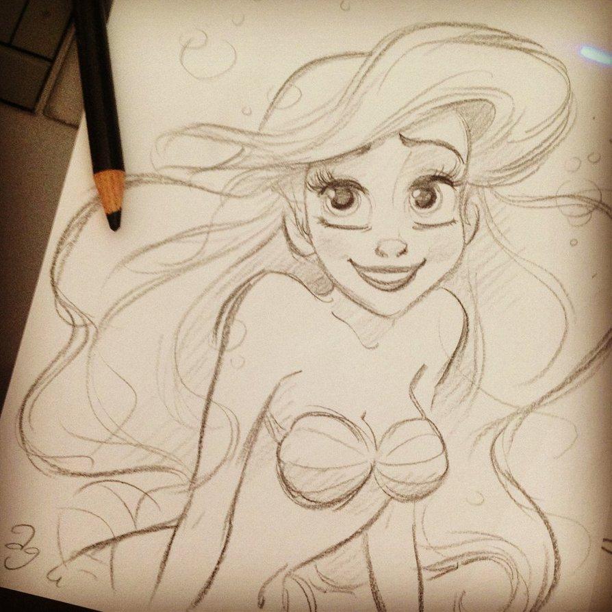 894x894 Disney's Ariel By Princekido