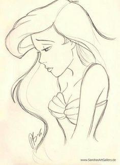 236x324 Disney drawings tumblr Tumblr Disney Ariel Easy Drawings Tumblr