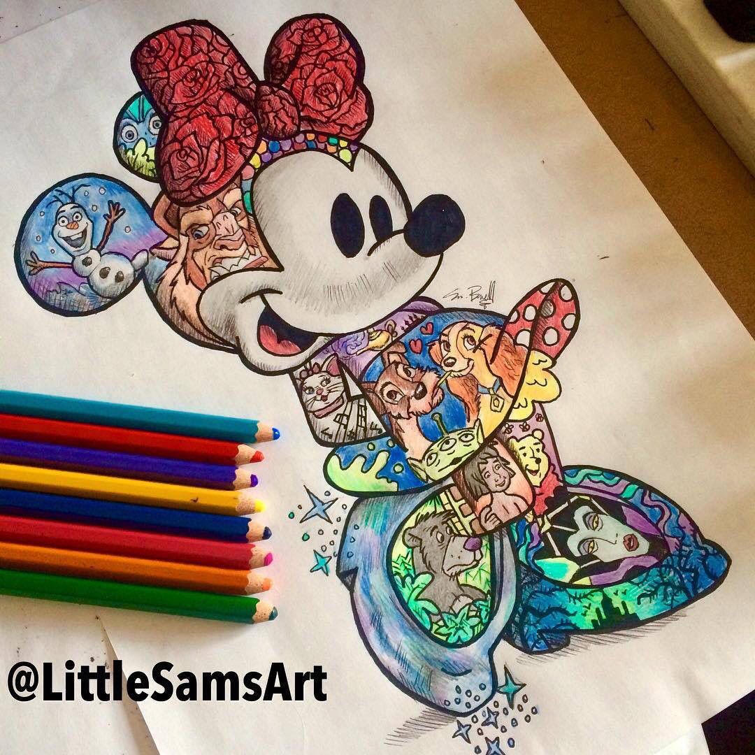 1080x1080 Pin By Elina Taylor On Drawings, Disney