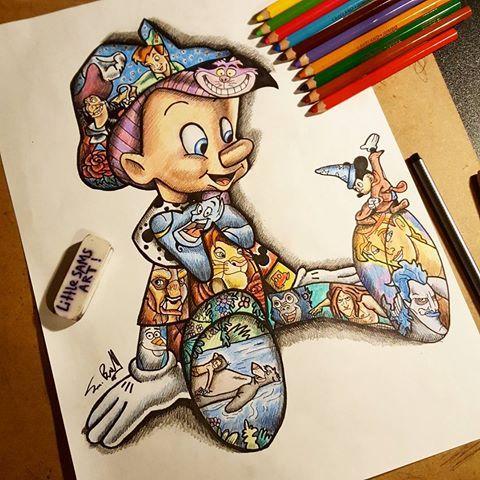 480x480 Related Image Disney Art Draw, Disney Art And Tattoo