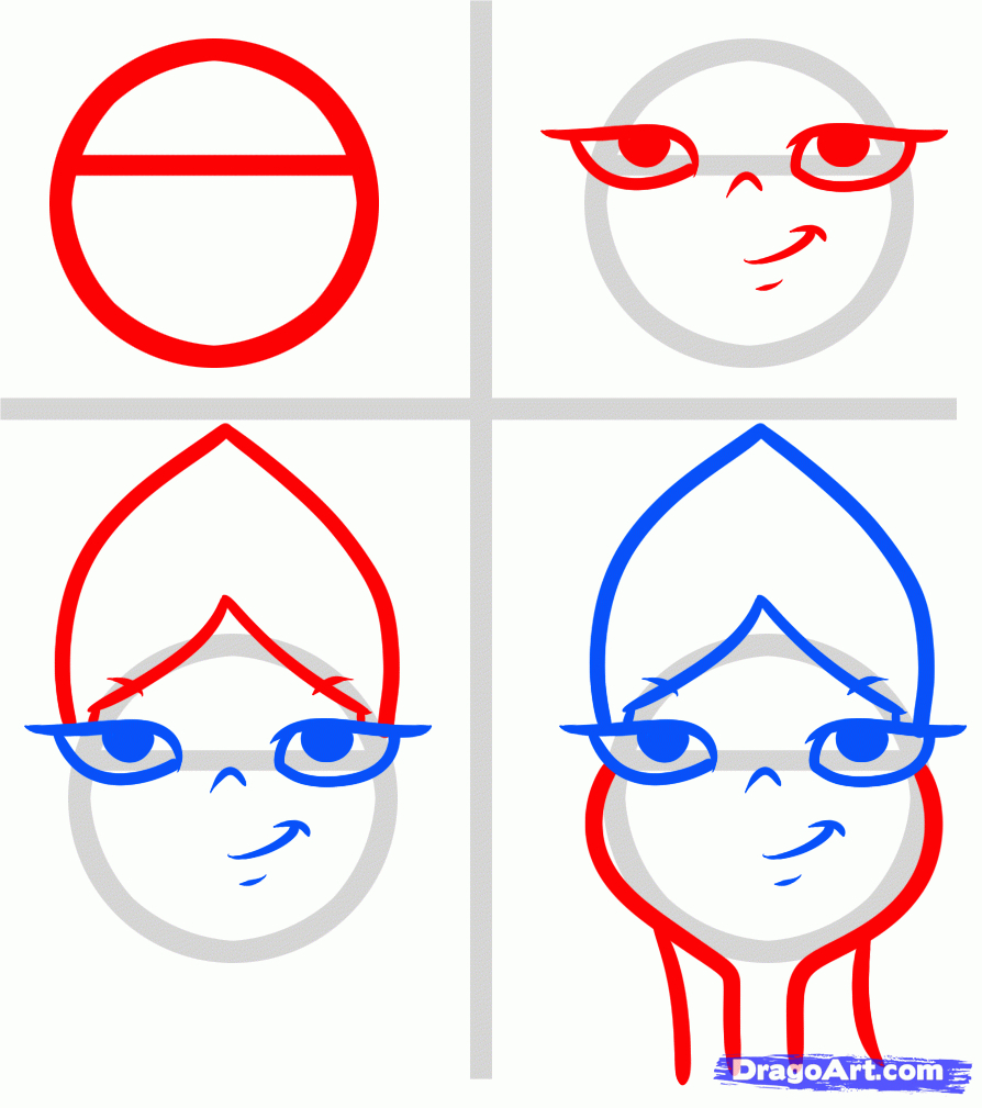 894x1009 Cartoon Characters How To Draw Step By Step How To Draw Elsa Easy