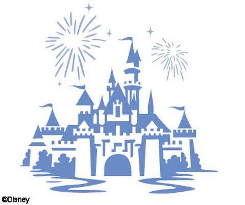 480x402 Disney Castle Stencil Simple Disney Castle Stencil Silhouettes