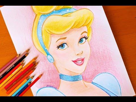 480x360 Drawing Princess Cinderella Disney Budget Art