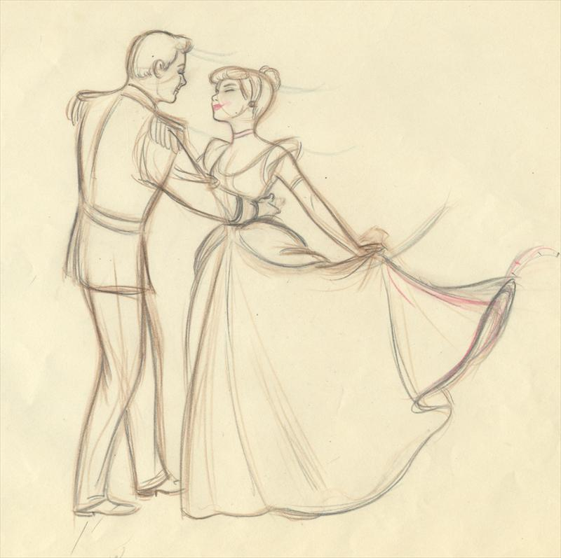 800x797 Disney Cinderella Marc Davis Animator'S