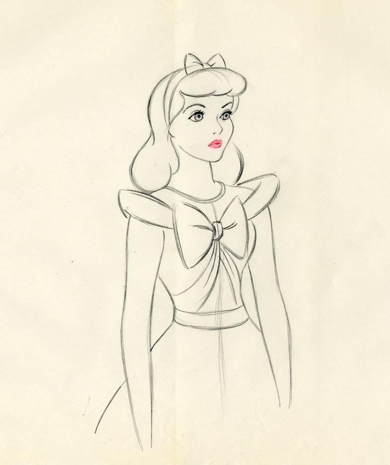 786x937 Disney Cinderella Marc Davis Scene