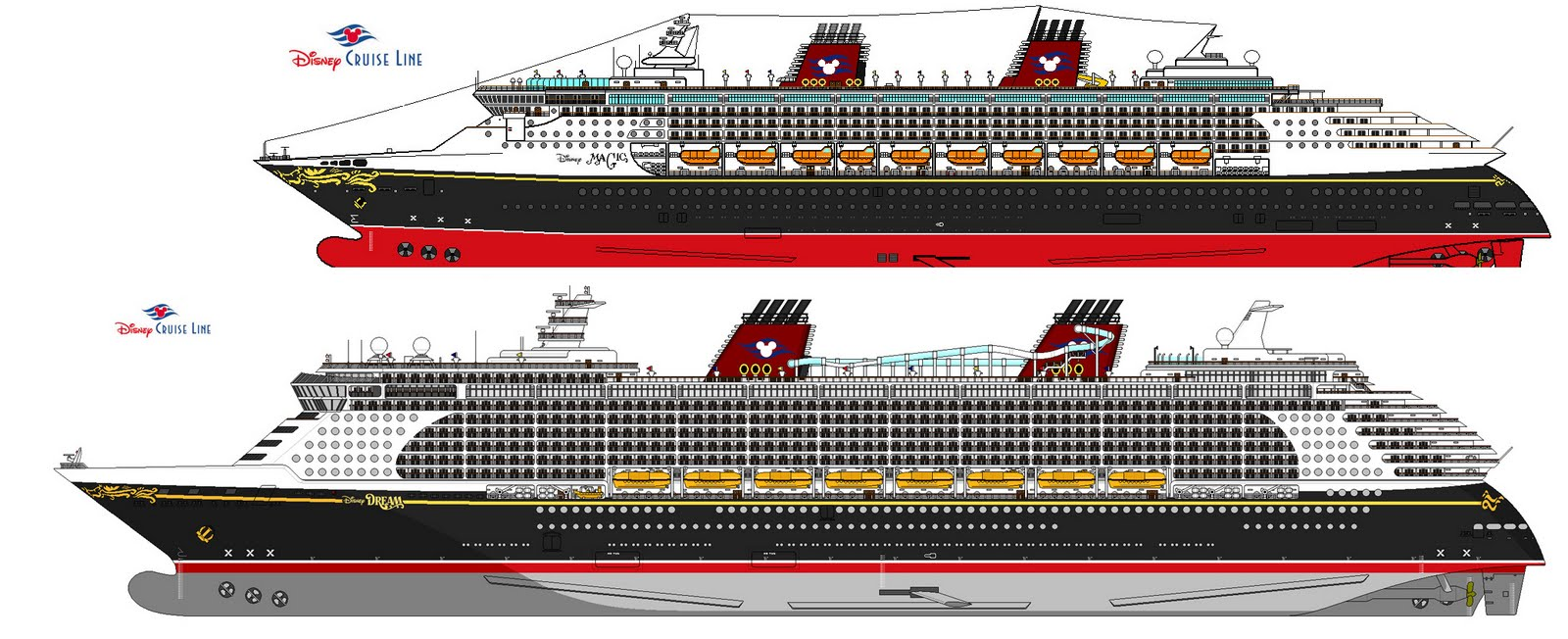 1600x652 Mouse Guide Identifying Disney Cruise Ships Size Of Regal Princess