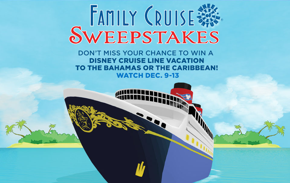 960x605 Wheel Of Fortune To Celebrate Disney Cruise Line With A Family