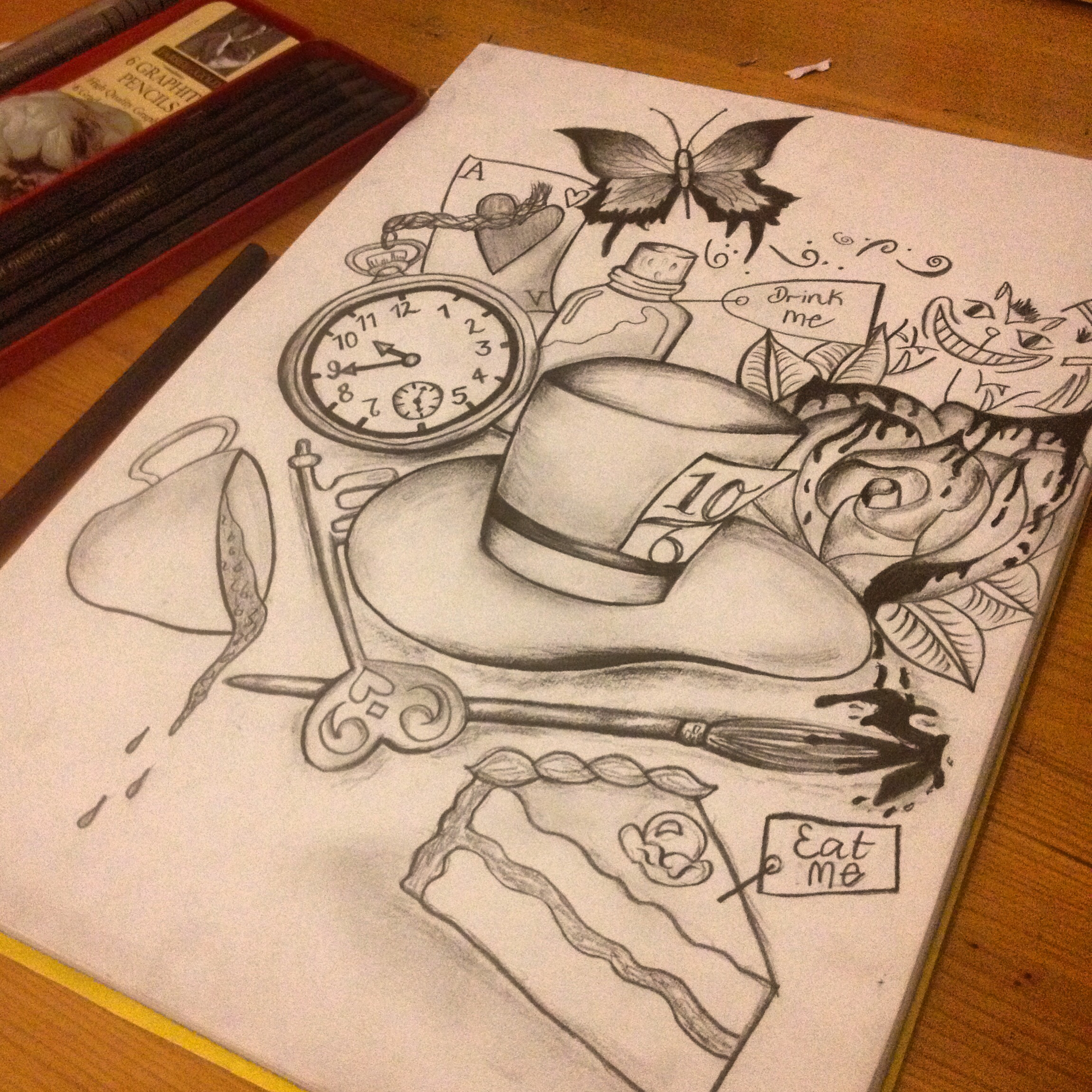 2300x2300 Alice In Wonderland Drawing Drawing Alice