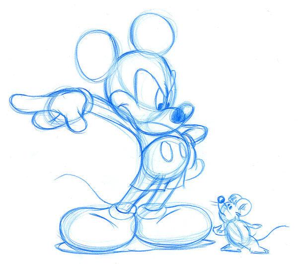 600x531 Walt Disney Drawings On Behance
