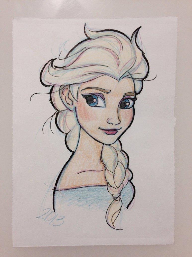 774x1032 Disney's Frozen Elsa By Gilmorefriends