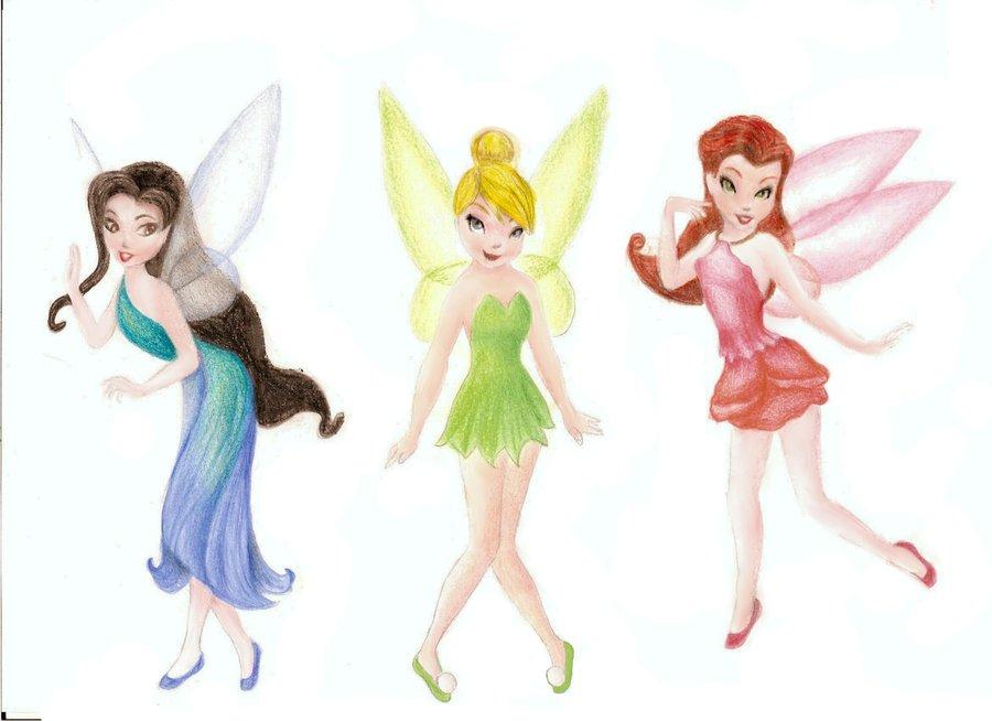 900x654 Disney Fairies By Dreamynaria