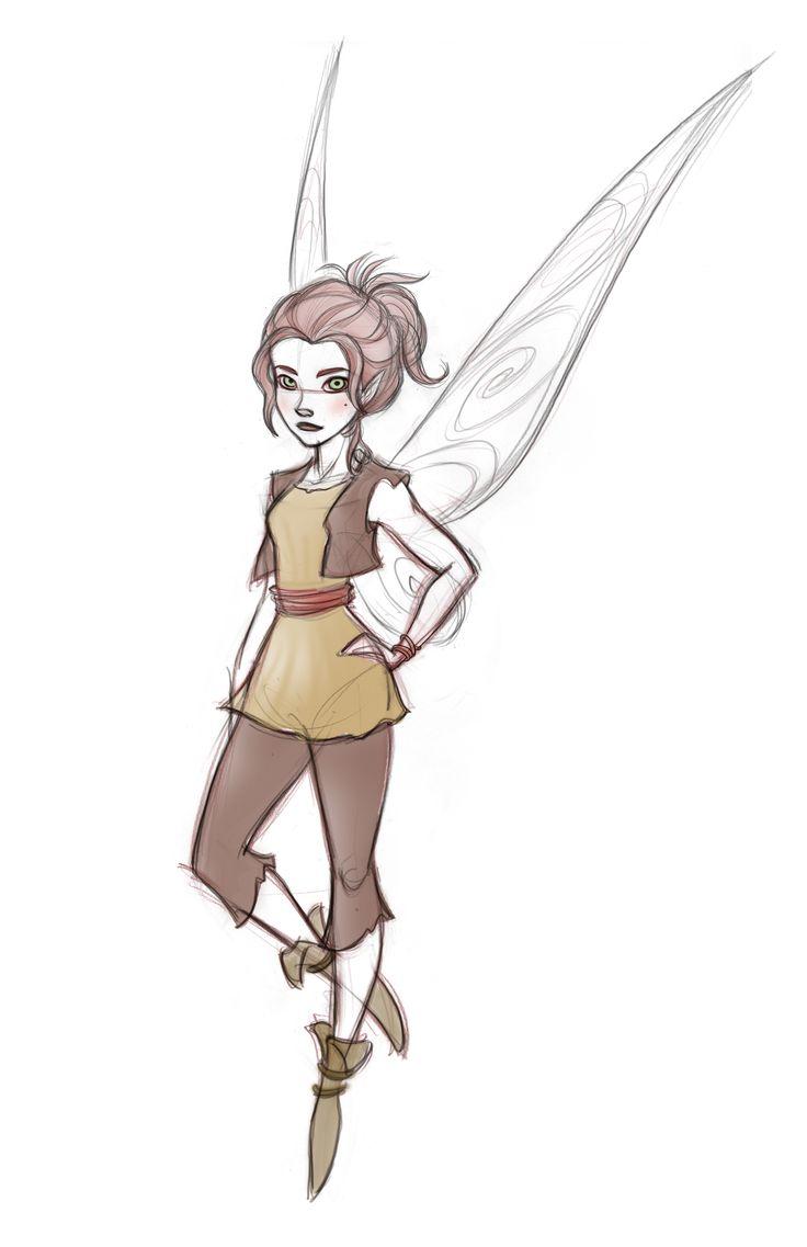 736x1137 The Pirate Fairy Zarina Character