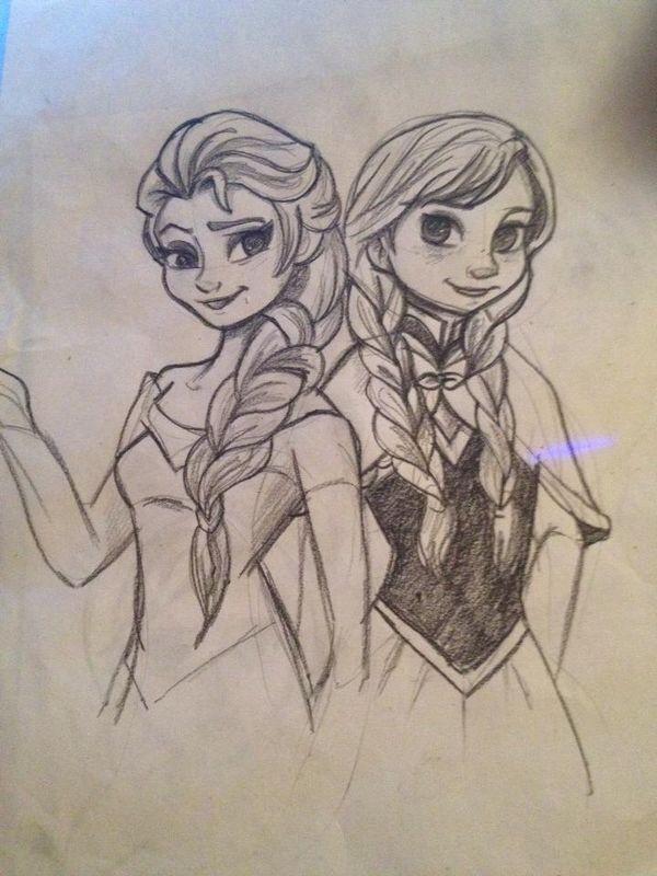 600x800 Disney Frozen Drawings Gift Ideas