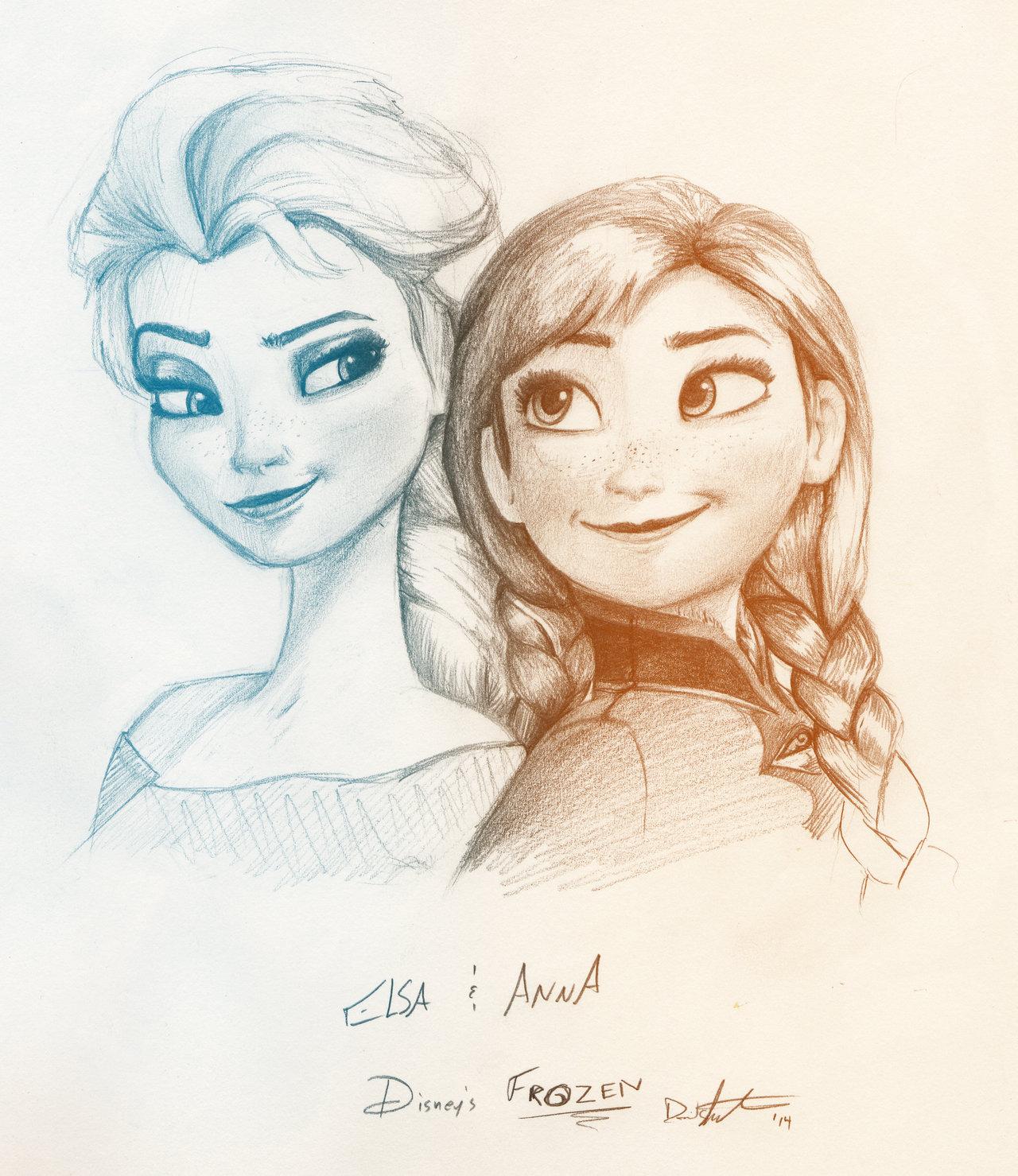 1280x1479 Elsa I Anna I Inspiracje Na Rysunki Lt3