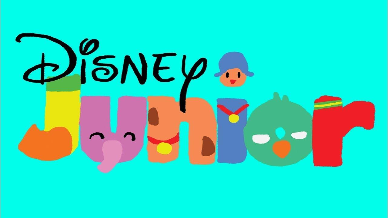 1280x720 Disney Junior Bumper Drawing (Poyoco Version)