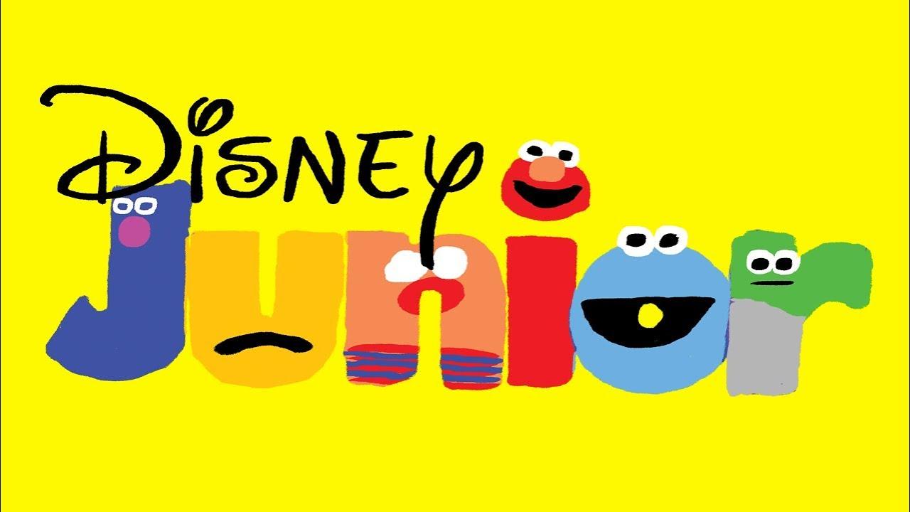 1280x720 Disney Junior Bumper Drawing (Sesame Street Version)