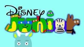 320x180 Disney Junior Bumper Drawing (Sesame Street Version)