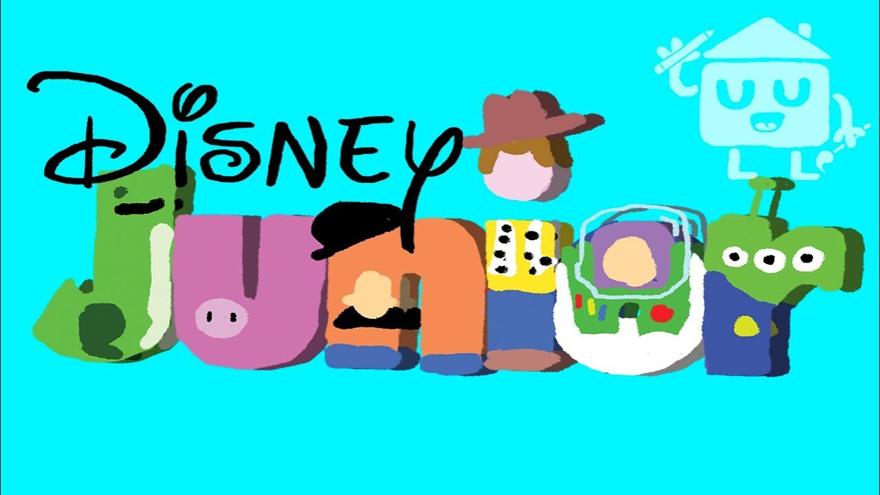 1280x720 Disney Junior Bumper Drawing (Toy Story Version)