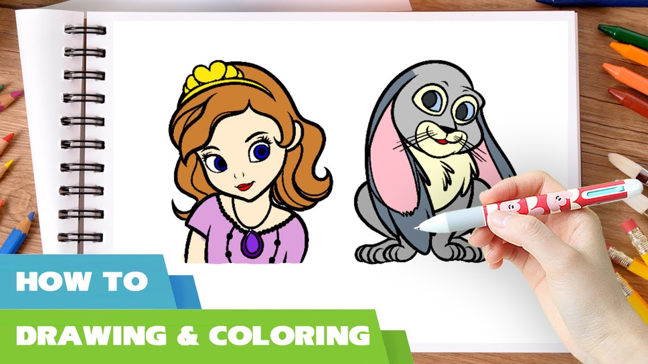 Disney Junior Drawing at GetDrawings.com | Free for personal use ...