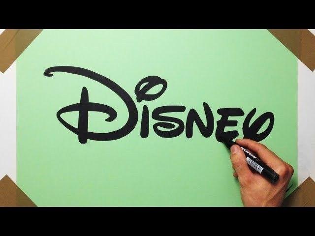 640x480 How To Draw ) Disney Logo