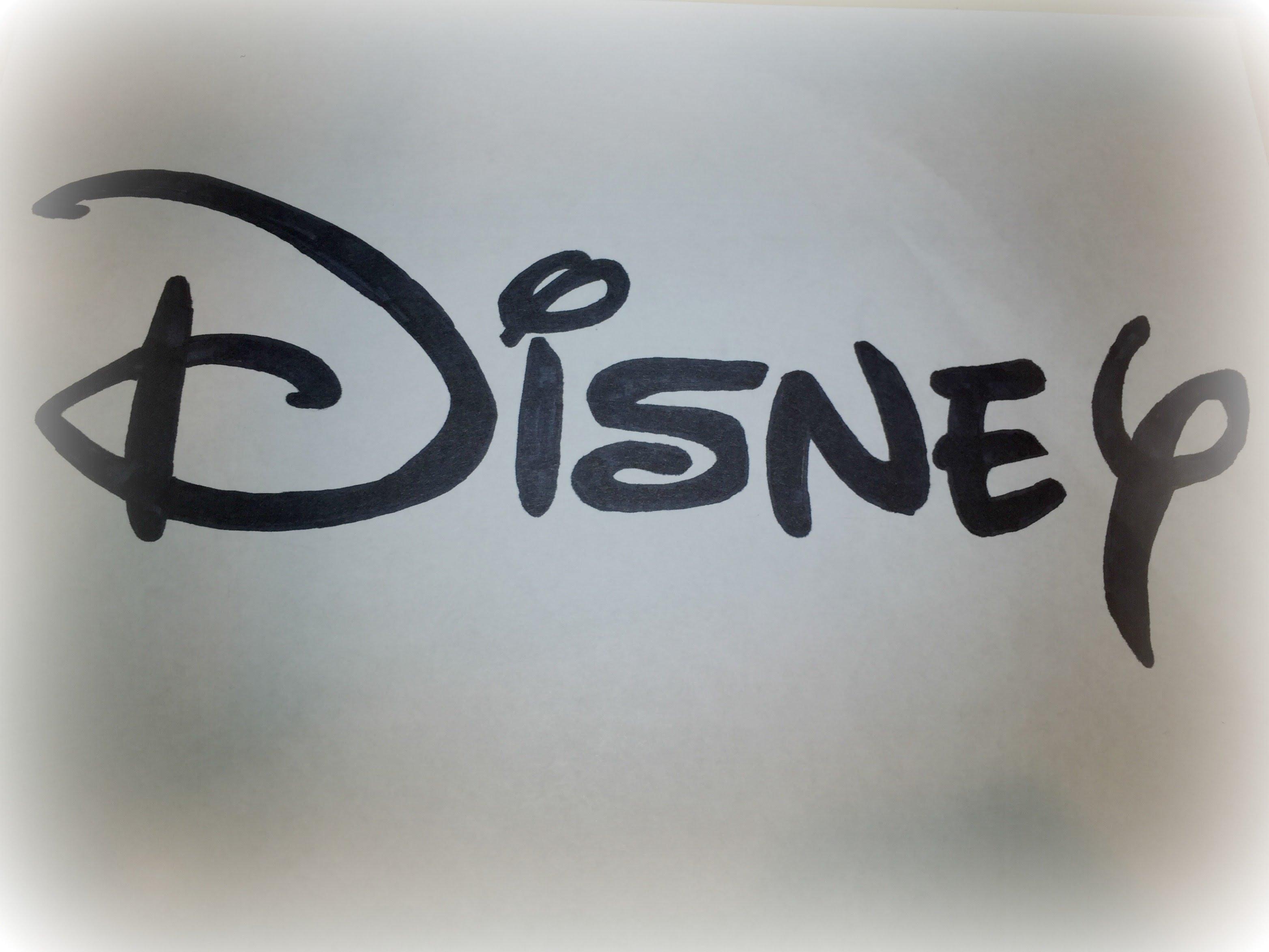 3128x2346 How To Draw The Disney Logo Logo Drawing