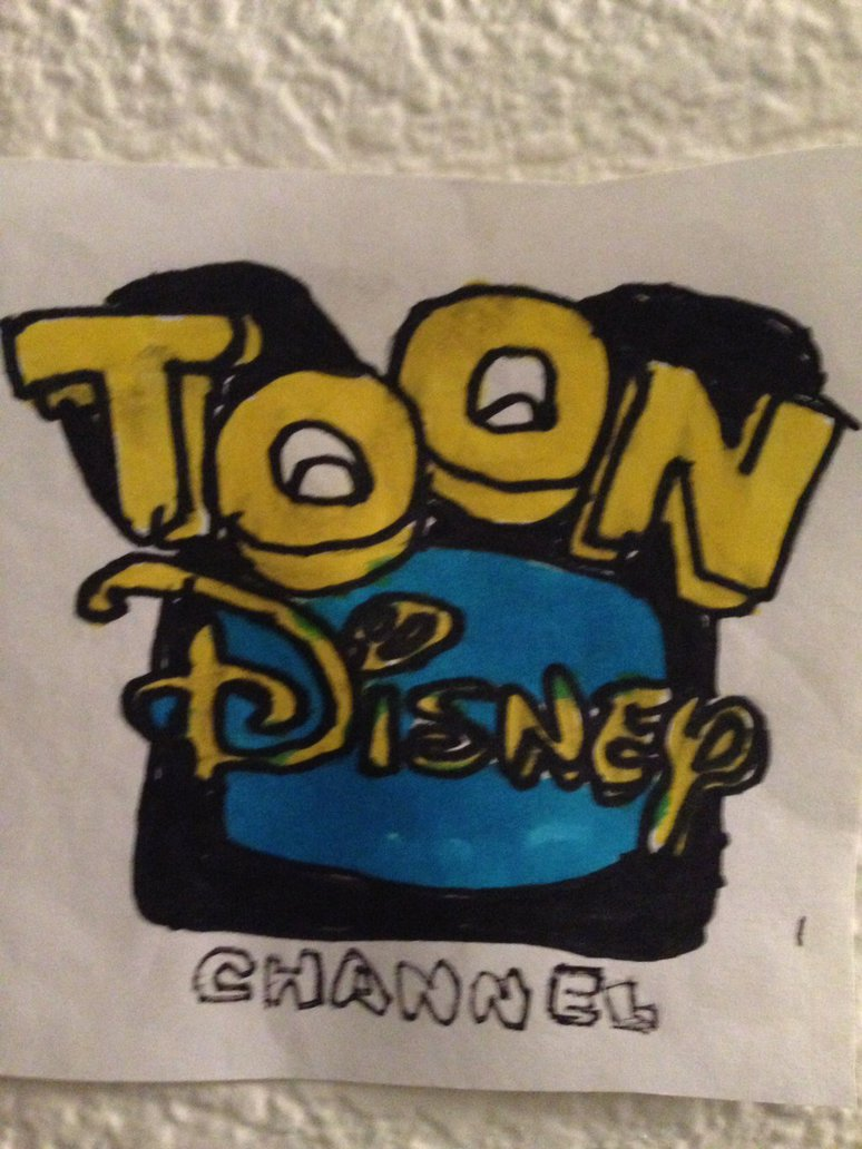 774x1032 Toon Disney Channel Logo Drawing By Nweezybluestars23