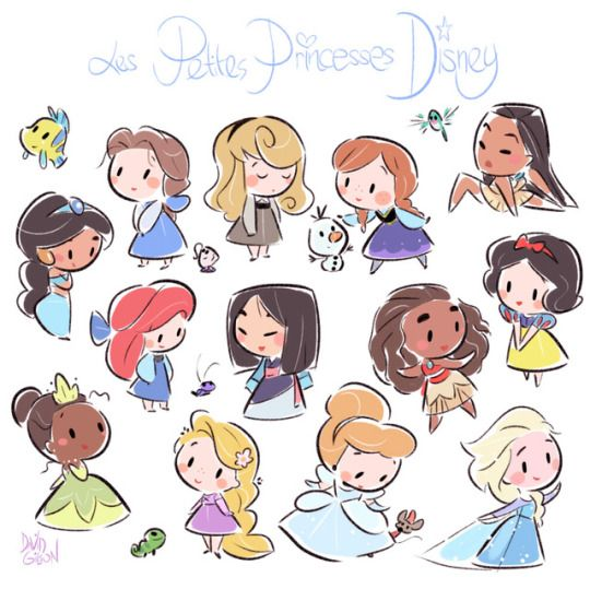 how to draw disney princesses faces
