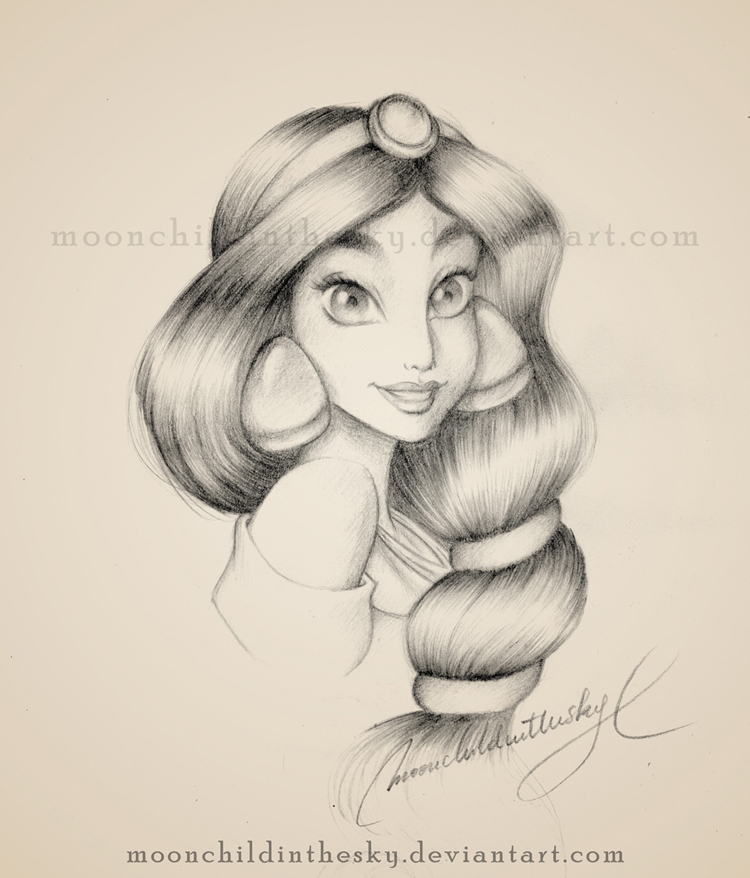 Pencil Jasmine Drawing Sketching