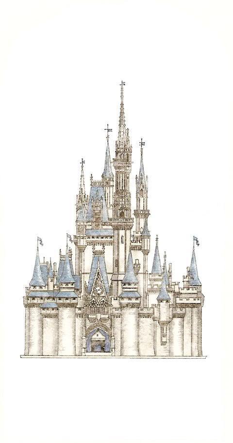 480x910 Castle Sketchimage Help The Dis Disney Discussion Forums