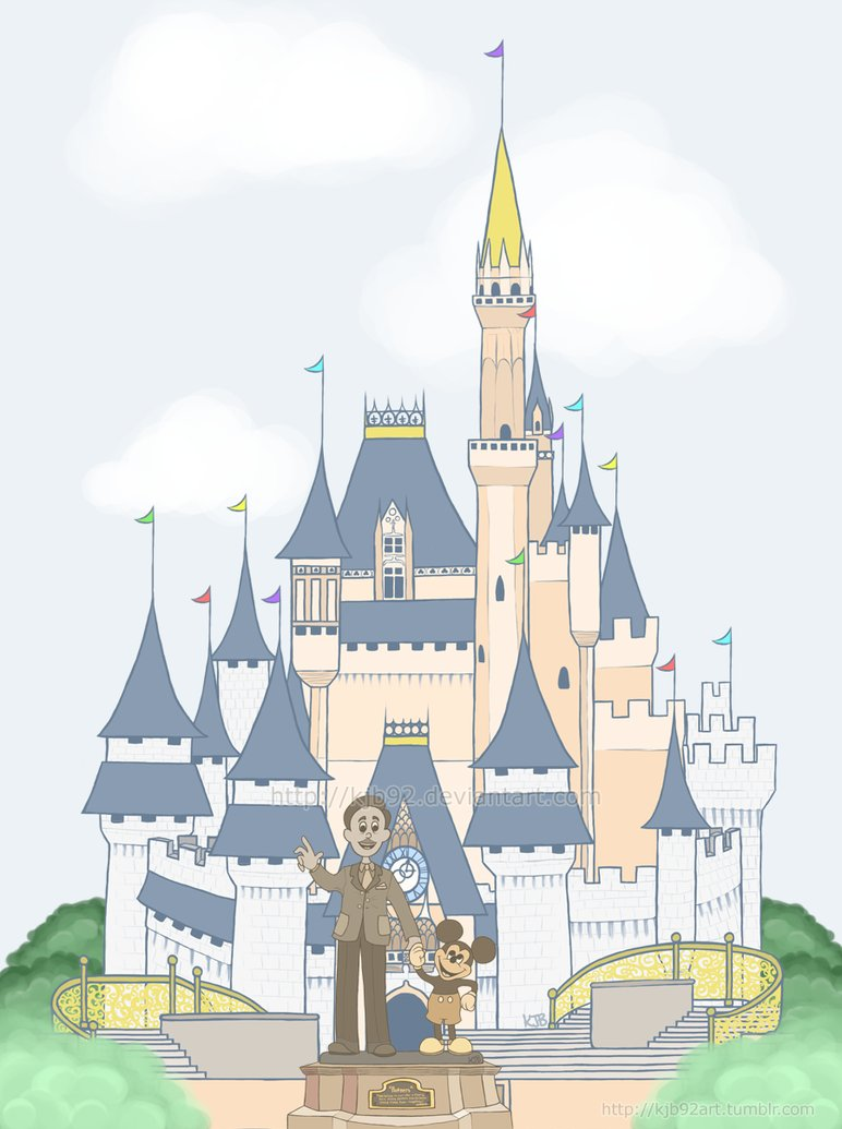 772x1035 Cinderella's Castle By Kjb92
