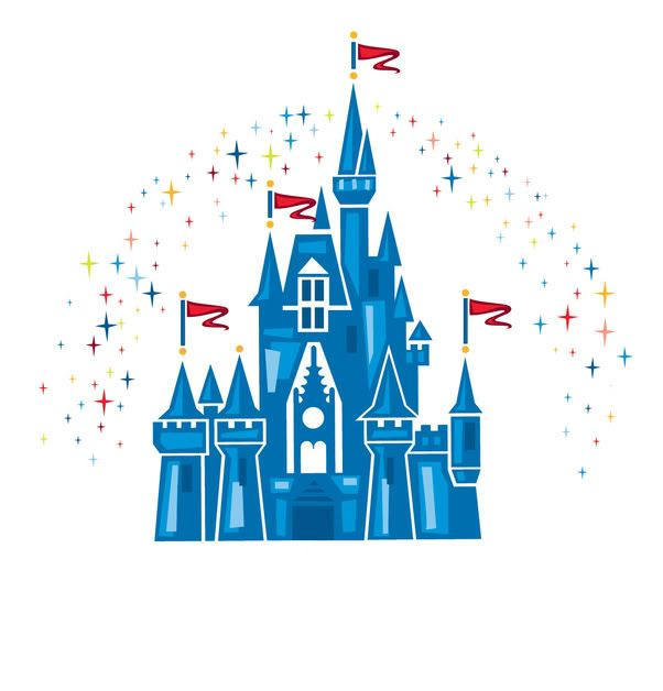 602x628 Free Printable Picture Of Magic Kingdom