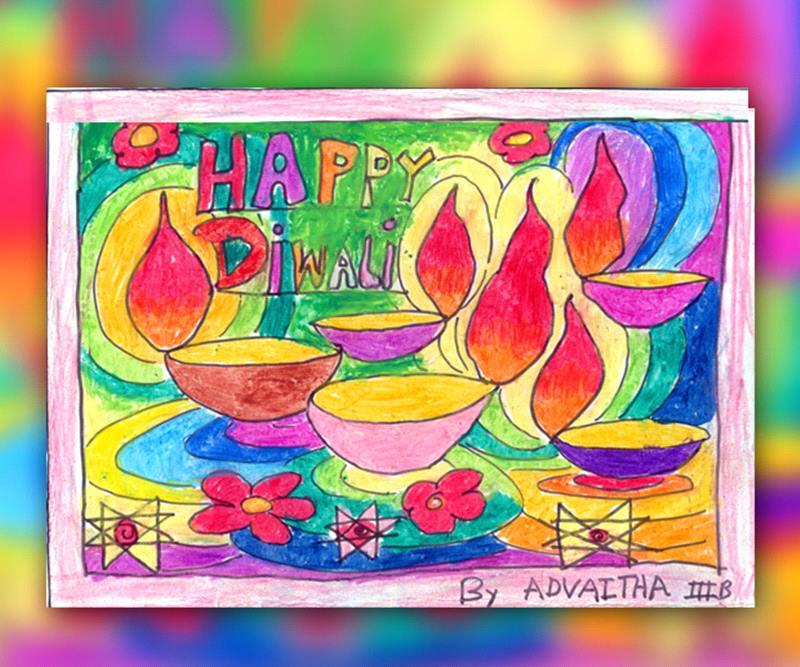 800x667 Diwali Paintings, Scene, Drawing Pictures, Sketch For Kids Happy