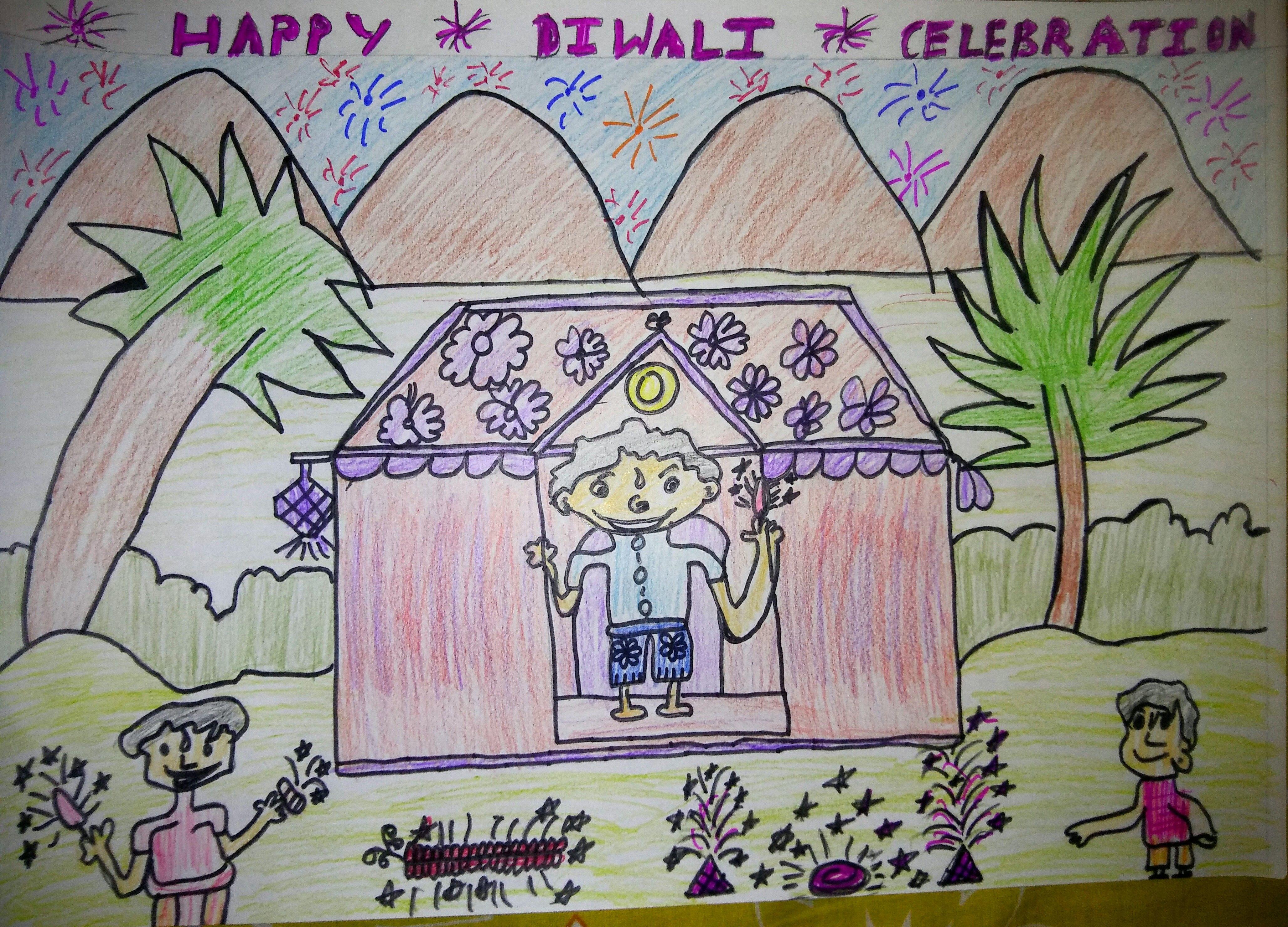 4113x2961 Happy Diwali