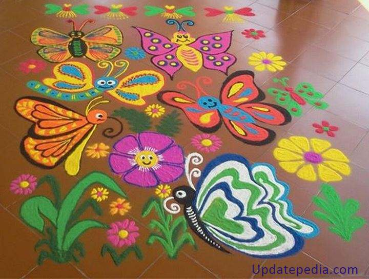 Diwali Rangoli Drawing At Getdrawingscom Free For Personal Use
