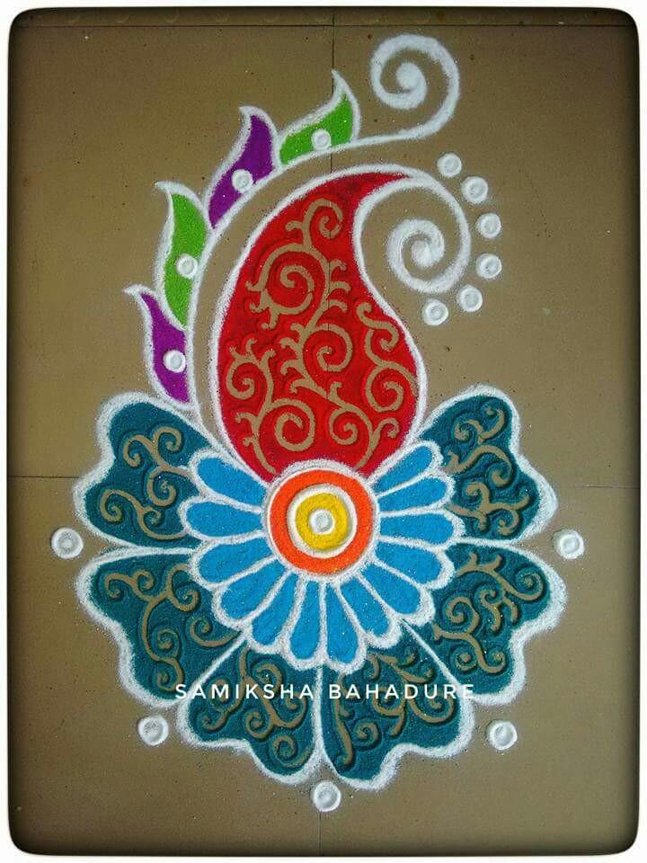 720x960 Freehand Rangoli Freehand Rangoli Rangoli Designs