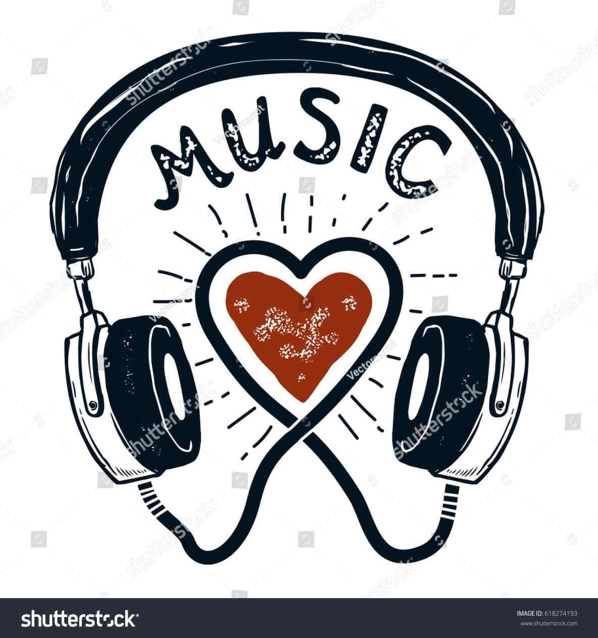 1185x1264 The Headphones Music Drawings Hottest Wedding Songs For And Dj