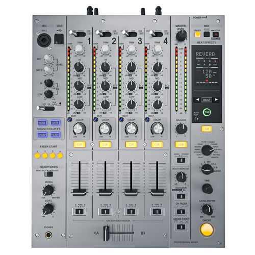 500x500 Dj Mixer Pioneer Djm 850 3d Cgtrader